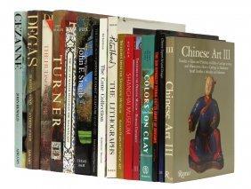 (16) Art Books, Degas, Cezanne, Turner, Chinese