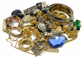 Group Of Costume & Fashion Estate Jewelry