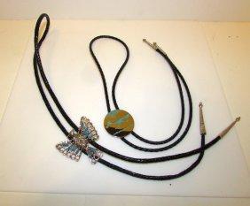 Vintage Native American Bolo Ties Lot