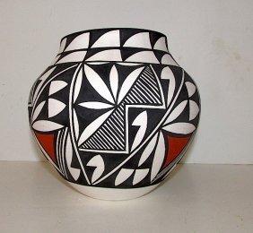 Acoma Pueblo Fine Collector Pottery M. Antonio