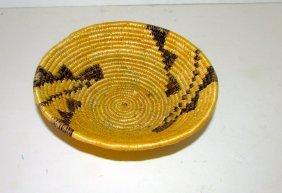Vintage Navajo Hand Woven Basket