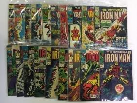 Iron Man Comic Lot.