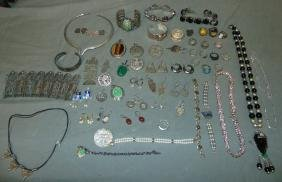 Silver Jewelry Lot. Large Lot.