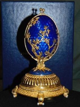 The Faberge Firebird Egg .925
