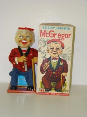 BOXED ROSKO BATTERY OPERATED McGREGOR