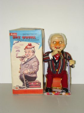 BOXED ROSKO BATTERY OPERATED PAT O'NEILL
