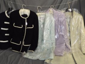 Ladies Chanel Jackets. Lot Of 5