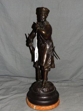 Evgeny Aleksandrovich Lansere. Bronze.