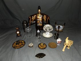Box Lot Of Assorted Decorative Items