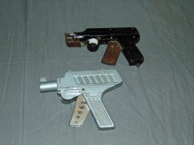 (2) Vintage Paper Popper Guns
