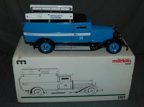 Marklin 1101 Telegram Truck In Original Box