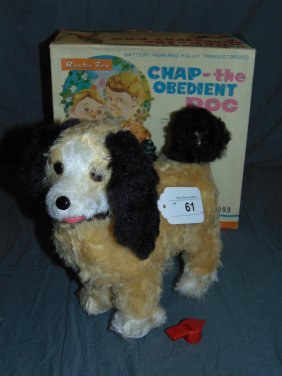 Rosko B/o Chap Obedient Dog In Original Box