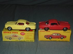 Dinky No.24j & No.185 In Original Boxes