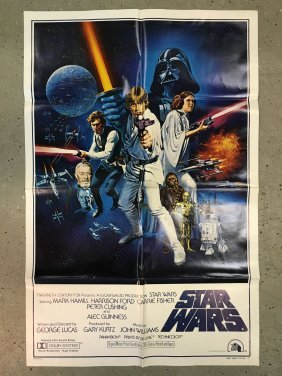 Star Wars 1977 International One Sheet, Style C