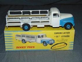 Dinky No.586 Citreon Milk Truck In Original Box