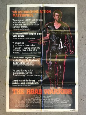 The Road Warrior 1982 Style B One Sheet Poster
