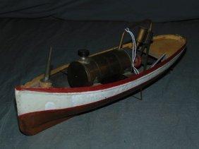 Antique Steam Engine Boat