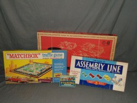 Lot Of 4 Car Related Games