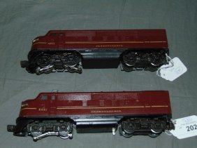 Lionel F3 Pennsylvania Units
