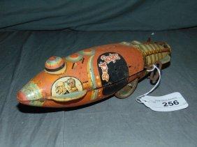 Vintage Marx Buck Rogers Windup Space Ship