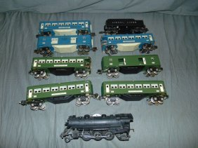 Lionel Pre-war Lot, 9 Pieces