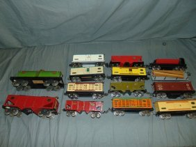 Lot Of Lionel Pre-war Freight Cars