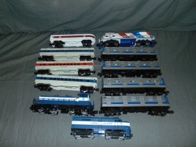 Lot Of Mth, Lionel Diesels, Passenger Cars, Etc