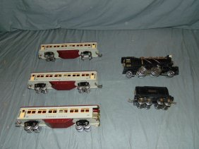 Lionel Pre-war Steam Engines, Tenders, Pass Cars