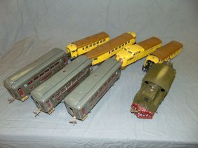 2 Sets Of Lionel Pre-war Electric Locos