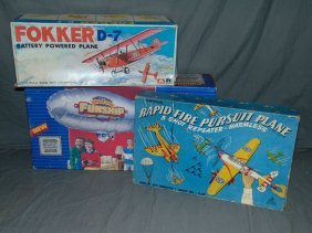 3 Piece Toy Airplane Lot