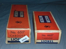 Lot Of Lionel Freight Cars