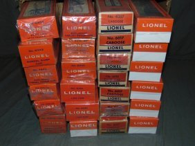 Large Lot Of Lionel Freight Cars