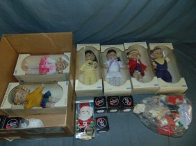 Mixed Doll And Collectible Lot