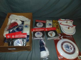1984 Olympics Collectible Lot