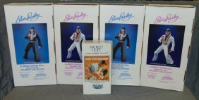 World Doll Collectible Lot Incl. Elvis Presley
