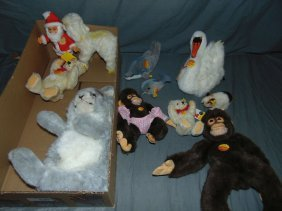 Wonderful Steiff Animal Lot