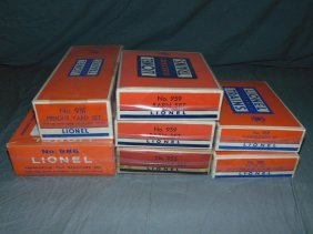 Lot Of Lionel Plasticville Sets, Boxed