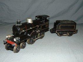 Marklin Engine And Tender.