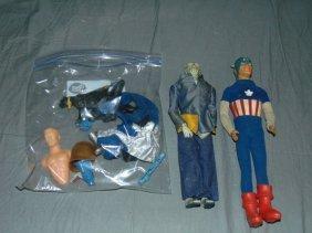 Captain Action & Dr. Evil Action Figures & Parts