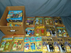 (21) Dc Superheroes & Batman Action Figures