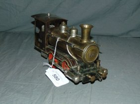Early Marklin Steam Engine.