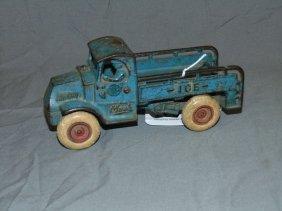 Cast Iron Arcade Mack Ice Truck
