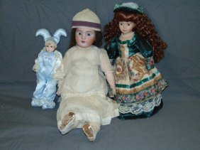 Mixed Doll Lot Of 3
