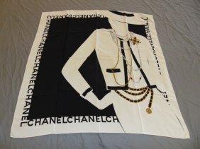 Chanel Silk Scarf.