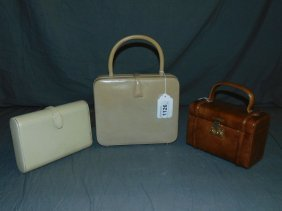 Vintage Designer Handbags / Purses. Lot Of 3