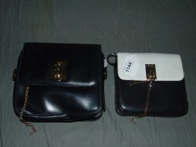 Celine Hand Bags. Lot Of 2.
