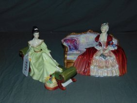Royal Doulton Figurines. Lot Of 2.
