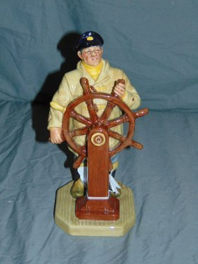 Royal Doulton Porcelain Figurine. The Helmsman.