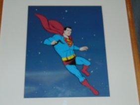 Filmation. Superman Animation Cel.