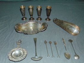 Sterling Silver Lot.